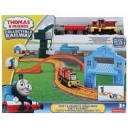Thomas & Friends Salty & Crankys Cargo Drop Track Set tren