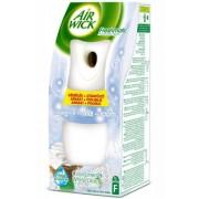 Odorizant de camera Freshmatic + Rezerva Cool Linen 250 ml Air Wick