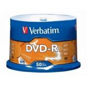 DVD-R 16X 4.7 GB 50 bucati Verbatim