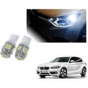 Auto Addict Car T10 5 SMD Headlight LED Bulb for Headlights Parking Light Number Plate Light Indicator Light For BMW 1 Series