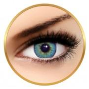 Solotica Solotica Solflex Natural Colors Topazio - lentile de contact colorate albastre lunare - 30 purtari (2 lentile/cutie)