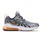 Nike Sneakers Air Max 270 React Eng Gs Grigio Arancio Bambino EUR 37.5 / US 5Y