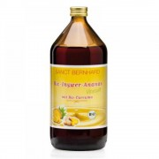 SANCT BERNHARD 100% BIO zázvorovo - ananasový sirup s kukrukmou 1000 ml