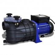 vidaXL Pompă electrică pentru piscină 500 W, Albastră