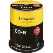 CD 80100 INT - Intenso CD-R 700MB/80min, 100-er CakeBOX