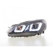 FK-Automotive Daylight fari LED con luce di marcia diurna DRL VW Golf 6 anno di costr. 08-12 nero