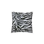 Almofada Quadrada Decorativa Estampa Safari Zebra 44cm