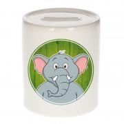 Bellatio Decorations Dieren spaarpot olifant voor kinderen 9 cm