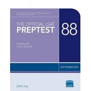 The Official LSAT Preptest 88: (september 2019 Lsat), Paperback/Law School Council