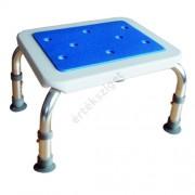 Fürdőkád belépő zsámoly állítható magasságú csúszásmentes felülettel és lábakkal, Herdegen
