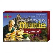 Extract Purificat de Rasina Mumie cu Ginseng 30cps Damar