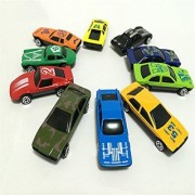 Kuhu Creations Classical Toys Cars Vehicle Gift Pack. (10 Units Mix Multicolor)