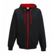 Varsity Zoodie Jet Black/Fire Red
