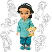 Disney Princess Animators' Collection Toddler Doll 16'' H - Jasmine with Plush Friend Raja