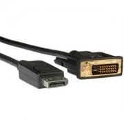 Roline DisplayPort Cable, DP M - DVI M, 2.0m, 11.04.5610