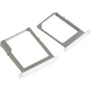SIM Card Tray Memory Card Holder SD Card Tray For Samsung Galaxy A7 A-7 A 7 SM-A700F 2015 Model White Color