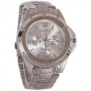 Rosra Men Full Stainless Steel Watch silver