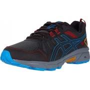 ASICS Gel-Venture 7 Trail Running Zapatillas para Hombre, Grafito Gris/Azul Directoire, 10 X-Wide
