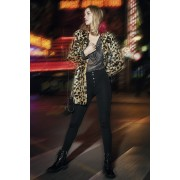 Mika elegáns női leggings fekete XL