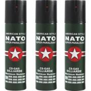 Set 3 bucati spray autoaparare cu piper NATO