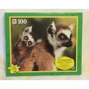 Hasbro Junior Puzzle Mom And Baby Lemur