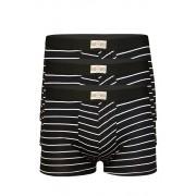 Retro boxerky levně 3 ks XL černá