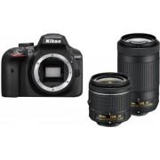 Nikon D3400 + AF-P DX 18-55mm VR + AF-P DX 70-300mm f/4.5-6.3G ED VR