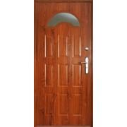 Drzwi stalowe z przeszkleniem BALI