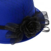 ELECTROPRIME® Female Girls HAT Women's Church Wedding Noble Dress Party Bucket Hat
