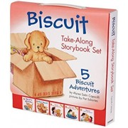 Biscuit Take-Along Storybook Set: 5 Biscuit Adventures, Paperback/Alyssa Satin Capucilli