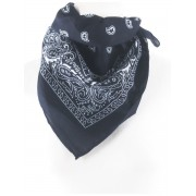 Boerenzakdoek / bandana in donkerblauw