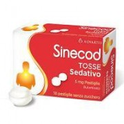 Glaxosmithkline C.Health.Spa Sinecod Tosse Sed 5 Mg Pastiglie 18 Pastiglie