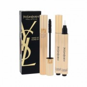 Yves Saint Laurent Mascara Volume Effet Faux Cils Duo Kit 7,5Ml Mascara 7,5 Ml + Brightener Touche Eclat 2,5 Ml 2 1 High Density Black Per Donna (Cosmetic)