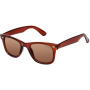 Cardon Brown Wayfarer UV Protected Unisex Sunglass