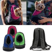 Dog Carrier Cat Puppy Mesh Pet Travel Bag Backpack Double Portable Shoulder Bag