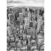 Fototapet urban alb negru Uptown