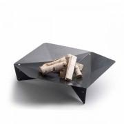 höfats Triple 120 Feuerschale - Corten-Stahl Ø 120cm Schwarz