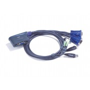 KVM SWITCH, ATEN CS62US, 2x1, USB, Audio