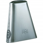 "Meinl Hand Cowbell STB65H, 6 1/2"", Hand Brushed Steel"