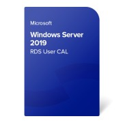 Microsoft Windows Server 2019 RDS User CAL, 6VC-03748 certificat electronic