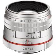 Pentax 35mm F/2.8 HD DA Macro Limited - ARGENTO - 2 Anni Di Garanzia
