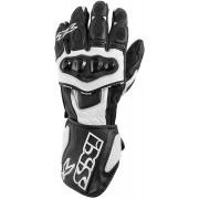 IXS RS-300 Guantes de la motocicleta Negro/Blanco 3XL