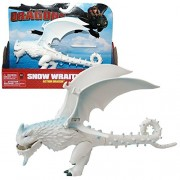 Spin Master Dragons - Action Game Set Dragon Snow Wraith Flapping Wings