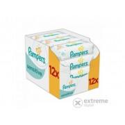 Pampers Sensitive vlažne maramice, 12x52