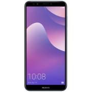 "Telefon Mobil Huawei Y7 Prime (2018), Procesor Octa-Core 1.1GHz/1.4GHz, IPS Capacitive touchscreen 5.99"", 3GB RAM, 32GB Flash, Camera Duala 13+2MP, Wi-Fi, 4G, Dual SIM, Android (Albastru) + Cartela SIM Orange PrePay, 6 euro credit, 6 GB internet 4G, 2,000"