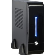 Inter-Tech Mini ITX E-2011 60W Mini-Toren 60W Zwart computerbehuizing