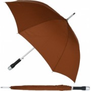 Umbrela mare automata maner siliconat aderent d 120 cm unisex maro