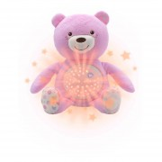 Oso Peluche Proyector Chicco First Bear Rosa