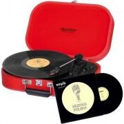 Pick-up trevi TT 1020 BT Red Vinyl + CD Muzica Polonia (TREVITT1020BTRED)
