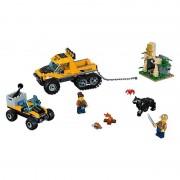 Lego city jungle explorers missione nella giungla con il semicingolato 60159